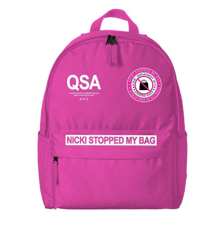 Nicki Minaj is mocking Cardi B's accusation she 'stopped her bag' with this official merch