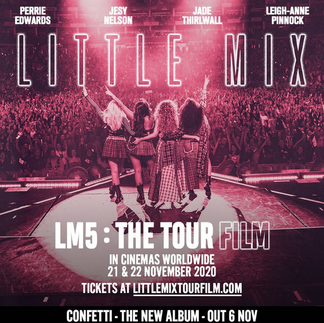 Little Mix are bringing LM5: The Tour 'to a cinema near you!'