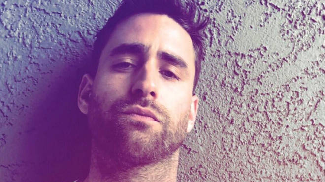 Oliver Jackson-Cohen is happy to share details on his Instagram account
