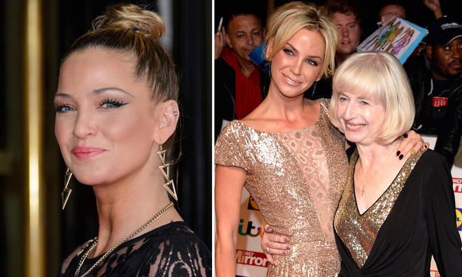 Sarah Harding is very close with her mum Marie Hardman