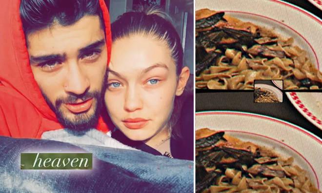Gigi Hadid & Zayn Malik enjoyed a date night complete with homemade pasta.
