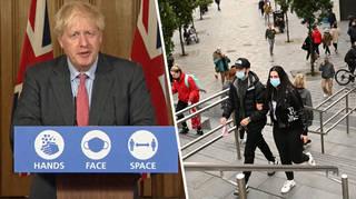 Boris Johnson is set to announce new coronavirus rules on Monday