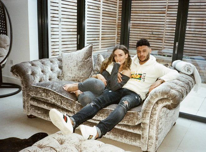 Perrie Edwards and Alex Oxlade-Chamberlain have been dating for almost two years