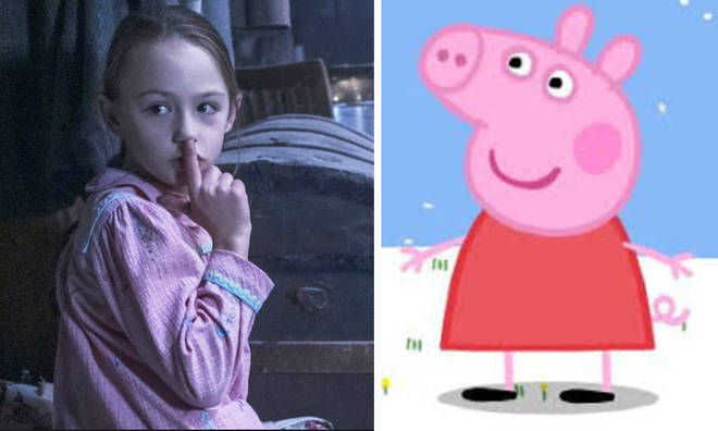 Flora from 'The Haunting Of Bly Manor' is the voice of Pepper Pig