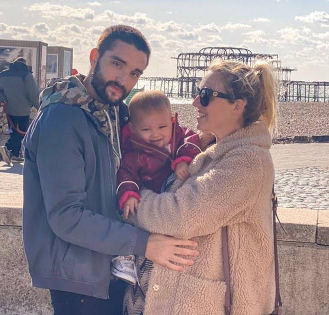 Tom Parker has a little girl and a second child on the way.