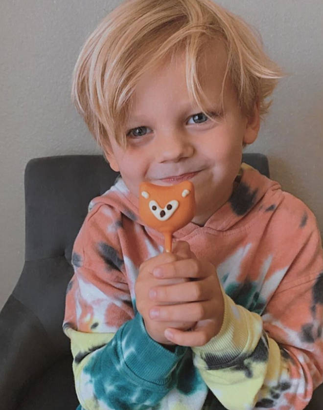 Louis Tomlinson's son Freddie is the spitting image of him