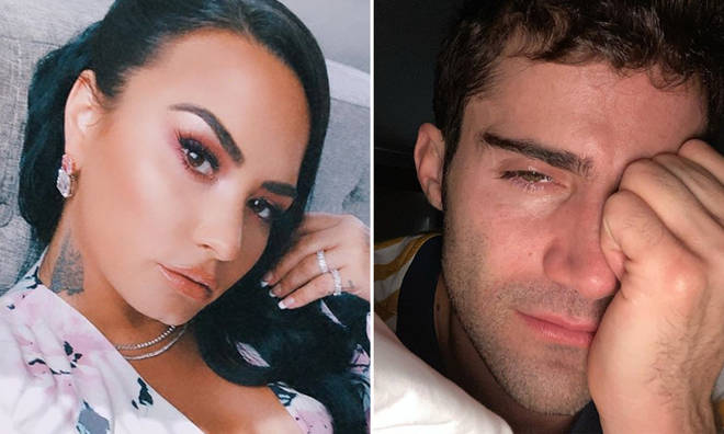 Demi Lovato is reportedly seeking legal advice as Max Ehrich has 'not left her alone' since they split.
