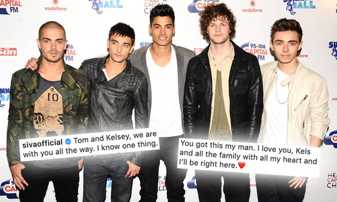 The Wanted's Tom Parker announced he had been diagnosed with a brain tumour earlier this week.