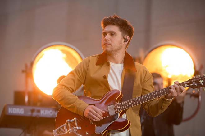 Niall Horan performing in 2018