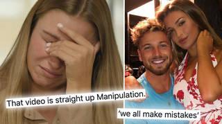 Zara McDermott's video apology to Sam Thompson has divided fans.