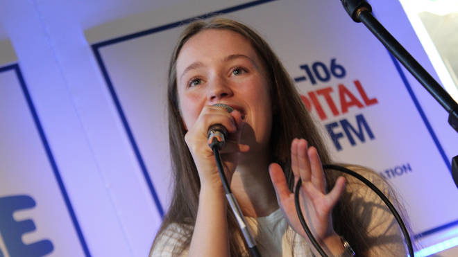 Sigrid performed a breathtaking live session at Capital's All Star Bar.