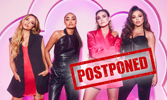 Little Mix: The Search has been postponed due to a coronavirus outbreak.
