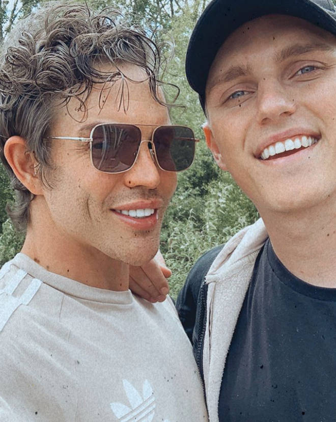 Bobby Norris and Matt Snape recently celebrated their one-year anniversary.