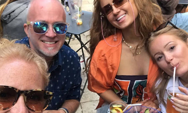 Maisie Smith's dad is also a regular on social media