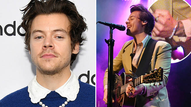 Harry Styles' favourite bracelet was made by two fans
