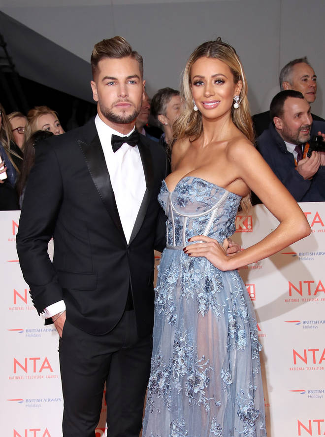 Chris Hughes and Olivia Attwood split while filming their reality show