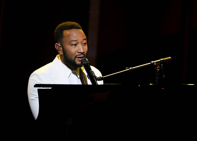 John Legend performs at the 2020 Billboard Music Awards