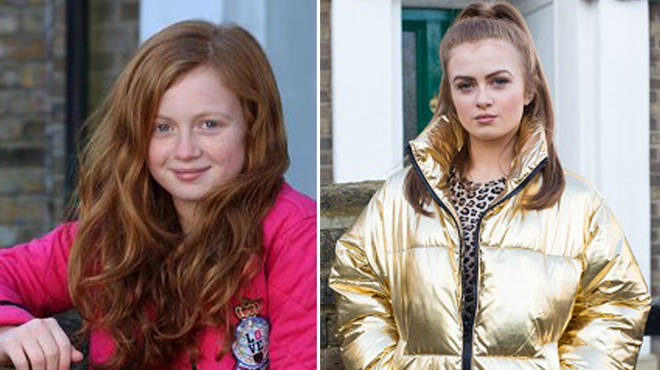 Maisie Smith plays Tiffany Butcher on EastEnders