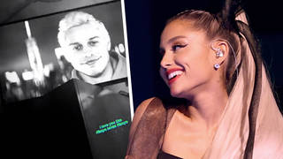 During Pete's SNL segment, Ariana shared an Instagram possibly shading Kanye West