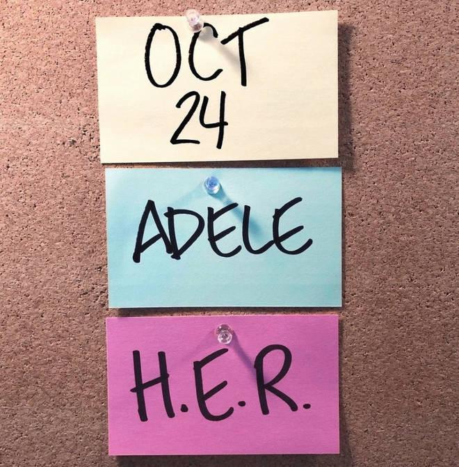Adele is hosting SNL