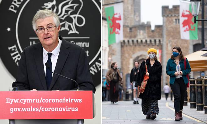 Wales will have a 'firebreak lockdown'