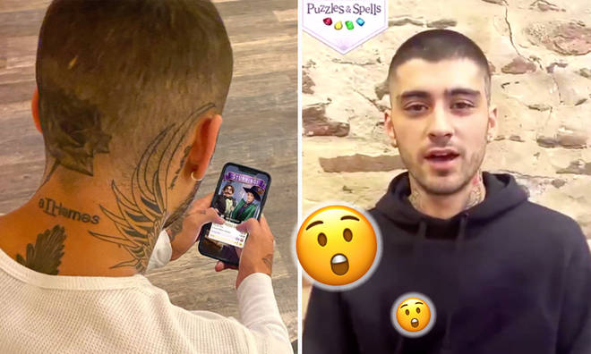 Zayn 'helped create' the Harry Potter app he is promoting