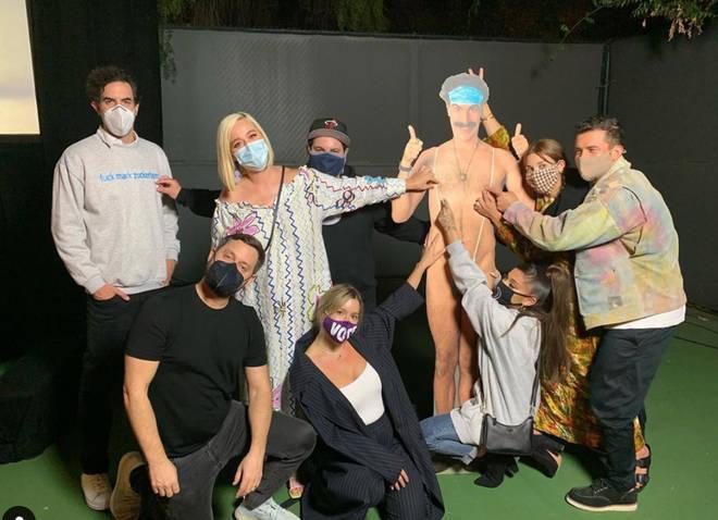 Sacha Baron Cohen invited Ariana Grande, Katy Perry and more celebs to a Borat 2 screening