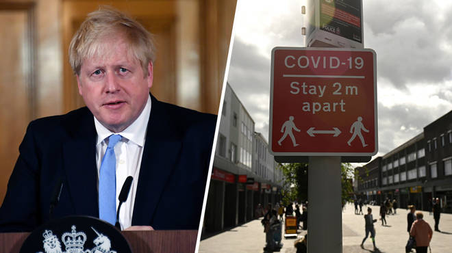 Boris Johnson updated the nation on the latest Covid-19 measures