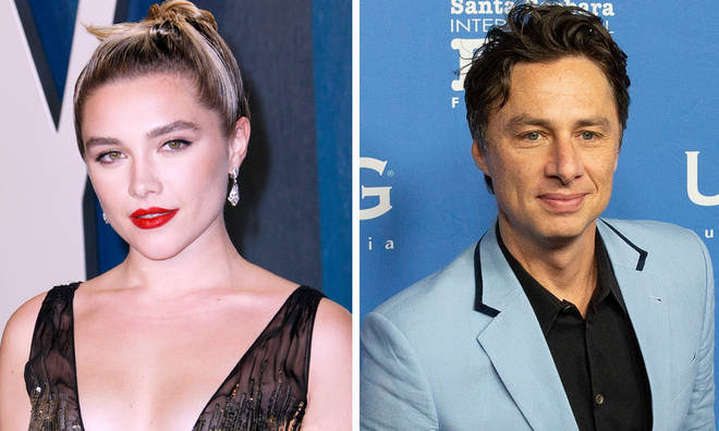 Florence Pugh is in a relationship with 'Scrubs' actor Zach Braff