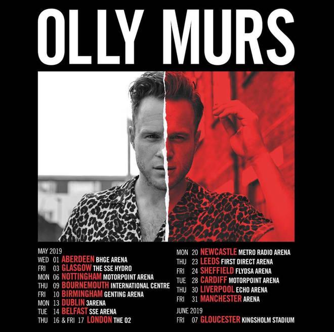 Olly Murs Tour Aberdeen