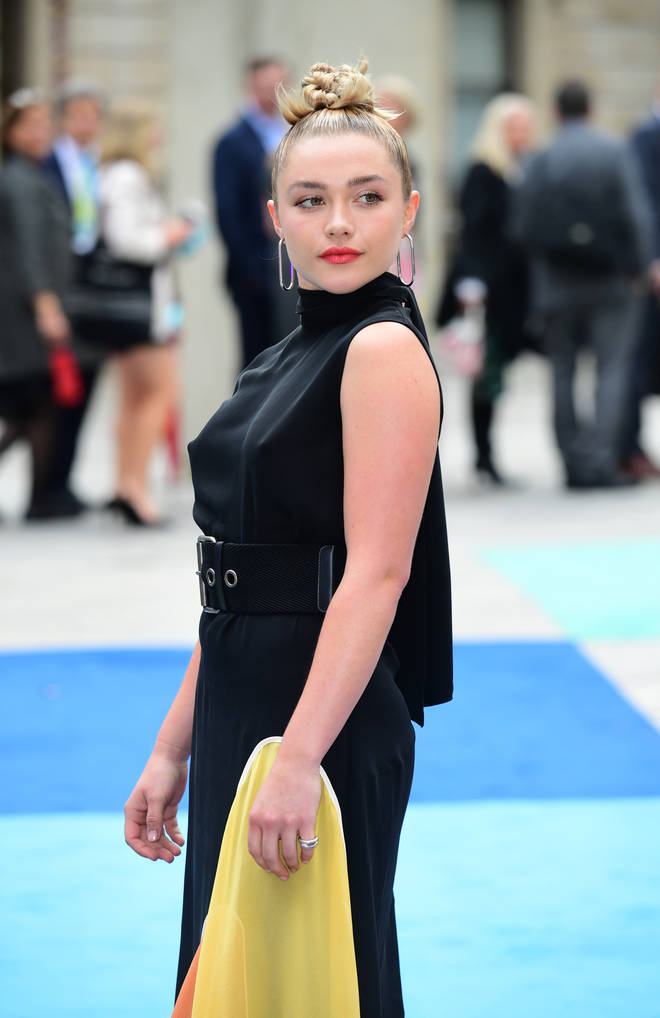 Florence Pugh is starring opposite Harry Styles in Don't Worry, Darling