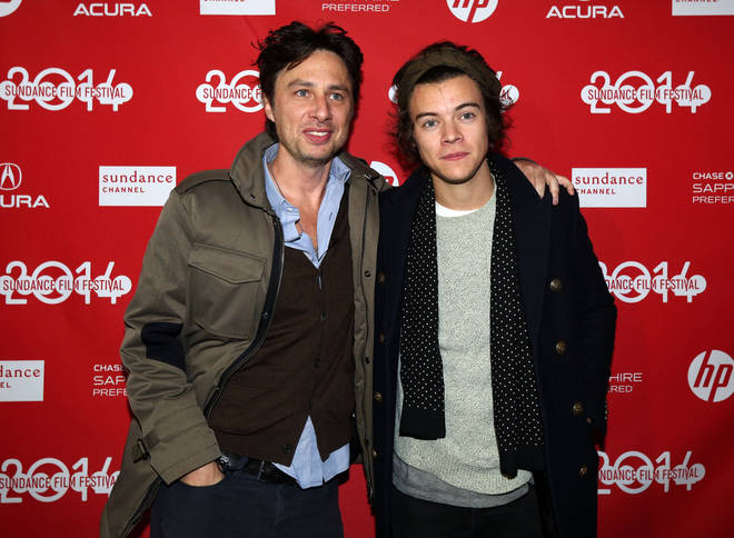 Zach Braff and Harry Styles have been friends for years