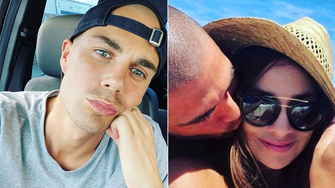 Max George and girlfriend Stacey Giggs have been together since 2019