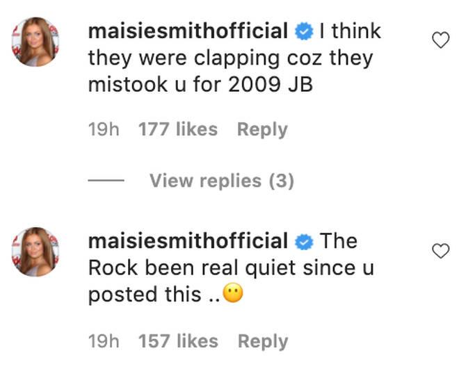 Maisie compared HRVY to Justin Bieber