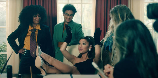 Ariana Grande is President of the US in her 'Positions' video