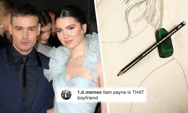 Liam Payne debuts incredible sketch of Maya Henry