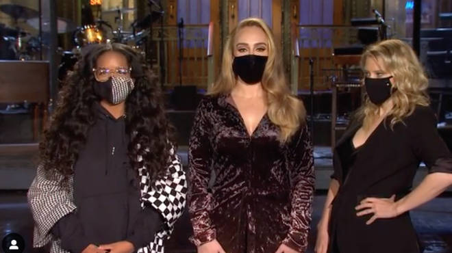 Adele looks sensational in pics from Saturday Night Live