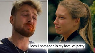 Sam Thompson posted and deleted a video of himself mocking Zara McDermott over the weekend.