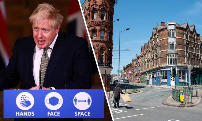 Boris Johnson hasn't ruled out a second national lockdown in England