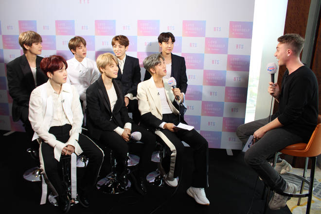 BTS revealed they'd love to work with Ed Sheer on a collab soon