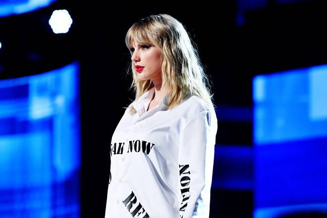 Taylor Swift's albums each surpassed a million sales