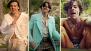 Harry Styles has released his 'Golden' video