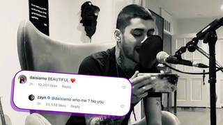 Zayn responded to fans on Instagram, sharing love with them