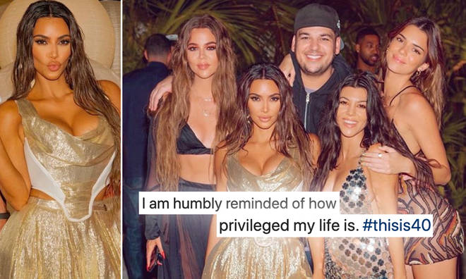 Kim Kardashian's 'humble' post bragging about 'privileged' she is has angered fans.