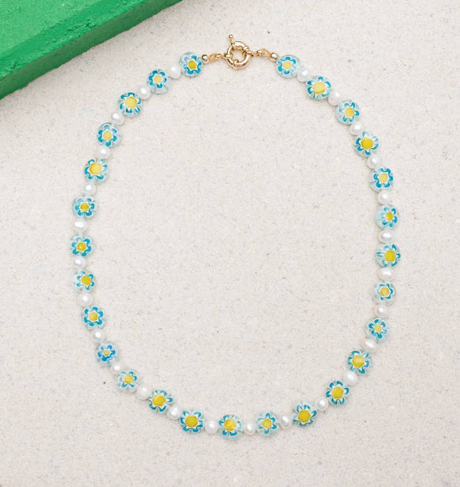 The 'Senna' necklace is customisable