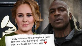 Adele denied she was dating rapper Skepta