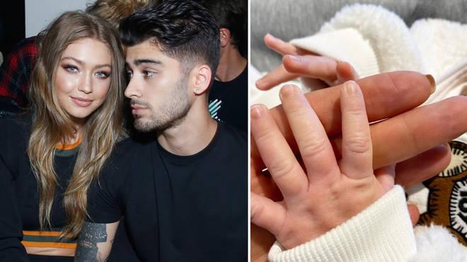 Gigi Hadid and Zayn Malik had a date night while their baby girl slept