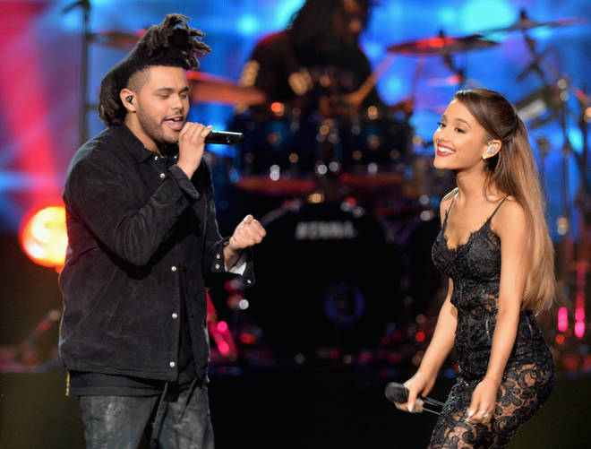 Ariana Grande and The Weeknd reference 'Love Me Harder' in their new collab