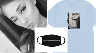 Ariana Grande's dropped merch for her 'Positions' era