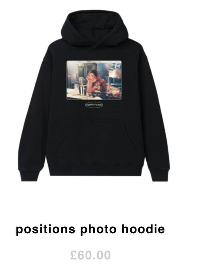 Bag an Ariana Grande 'Positions' hoodie